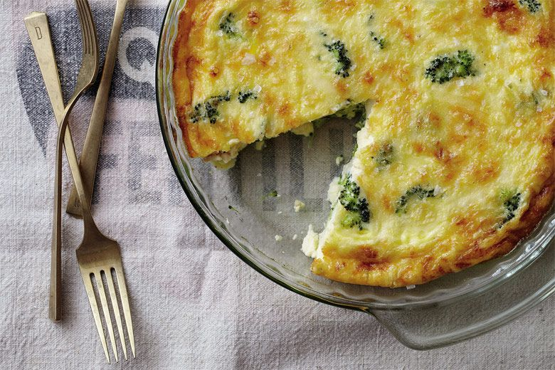 ... Weekly - Issue 61 - Crustless Broccoli and Cheddar Quiche Recipe